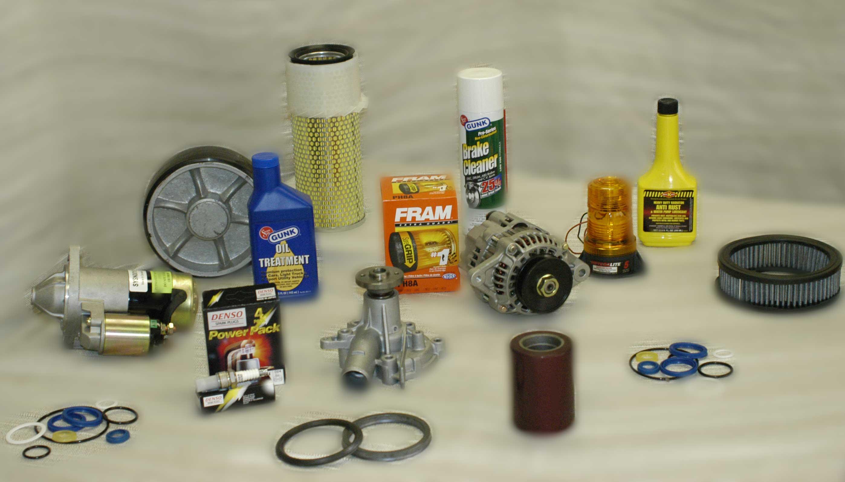 Forklift Parts And Pallet Jacks